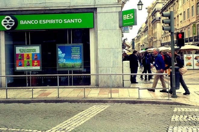 Agência do antigo Banco Espírito Santo em Portugal: instituição, uma das mais tradicionais do país, fechou neste ano