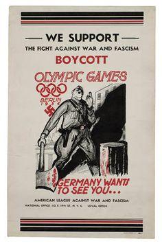 Campanha pelo boicote aos jogos de Berlim nos EUA