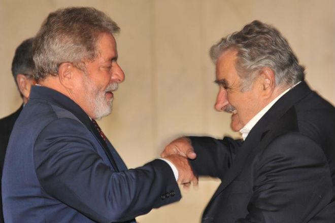 Lula e Mujica / Foto: Agência Brasil