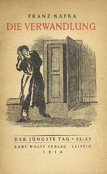"""Capa da primeira publicação em livro de """"A Metamorfose"""""""