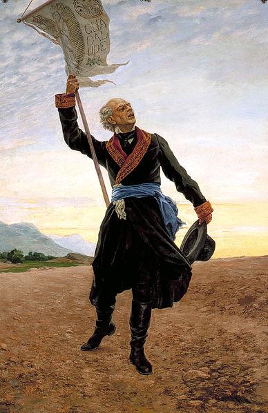 WikiCommons/ Miguel Hidalgo y Costilla proclamou o início da Guerra de Independência