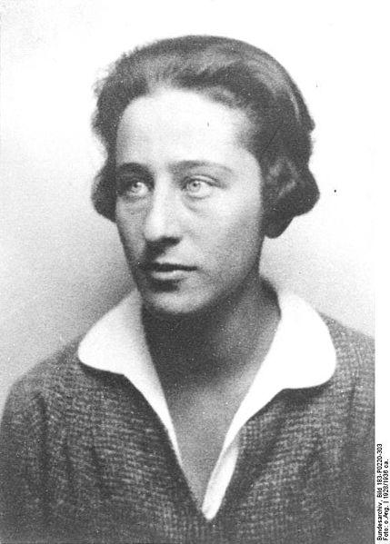 Olga Benário Prestes em 1938. (Foto: Bundesarchiv/Wikimedia Commons)