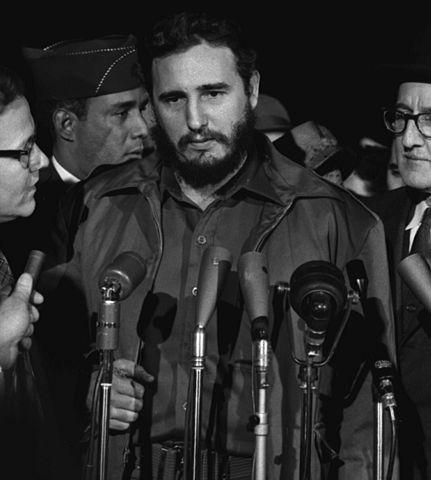 [Fidel viajou a Cuba poucos meses depois da Revolução de 1959