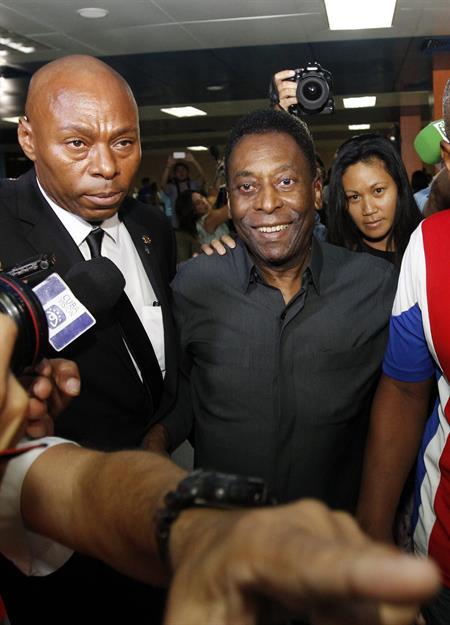 Pelé é presidente de honra do clube em que atuou entre 1975 e 1977