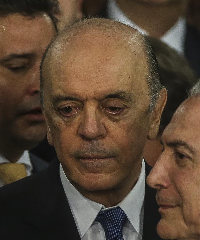 Novo ministro das Relações Exteriores, José Serra | Foto: Efe
