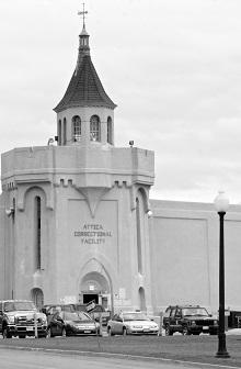 Prisão de Attica, no Estado de Nova York, onde Muntaqim está preso