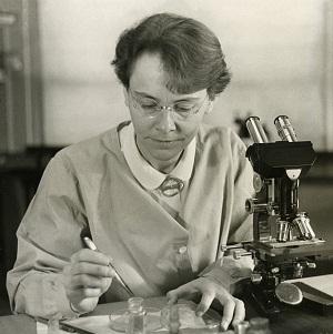 Barbara McClintock em 1947