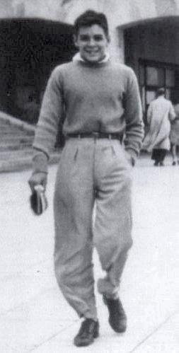 Che de férias na cidade argentina de Mar del Plata, em 1945