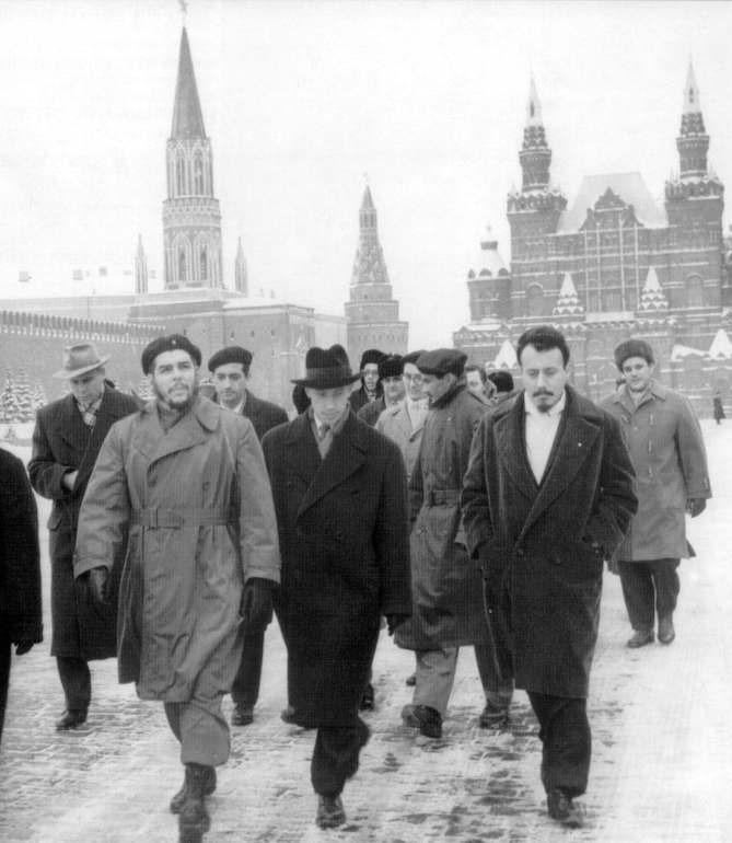 Che em Moscou, em 1965