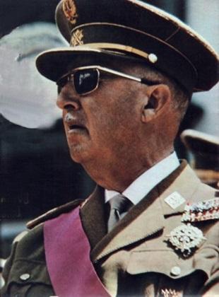 Franco: em seu funeral, chefes de Estado se recusaram a homenageá-lo