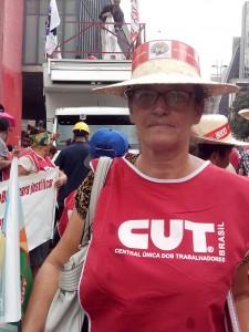 Vera Oliveira, agricultora do Vale do Ribeira| Foto: Eduardo Nunomura