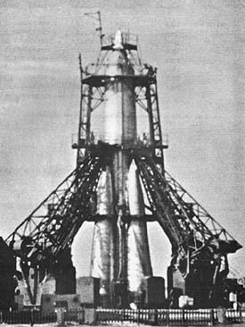Foguete propulsor do Sputnik 1