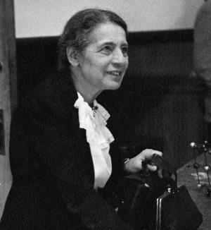 Lise Meitner em 1946