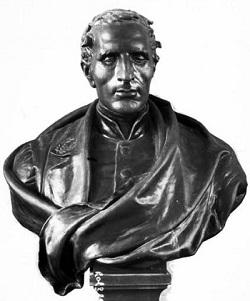 Busto de Louis Braille, por Étienne Leroux