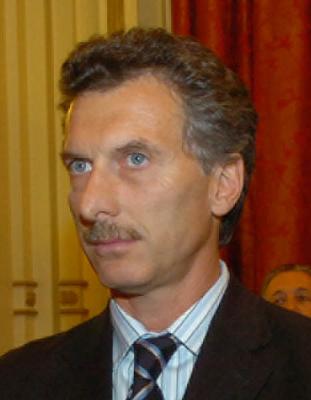 Macri, em 2008, durante evento na Casa Rosada