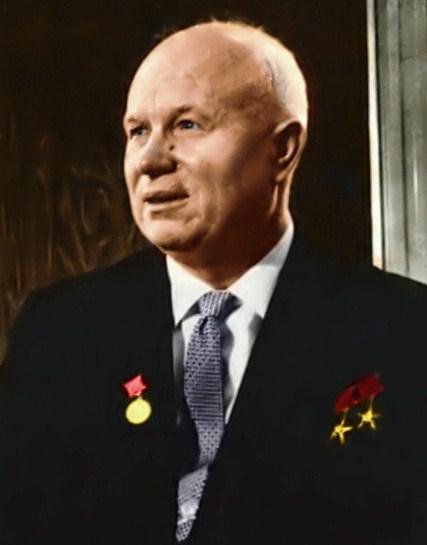 Nikita Kruschev - Wikicommons