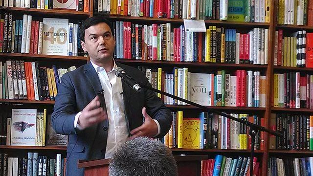 O acadêmico francês Thomas Piketty