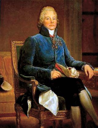 Wikicommons - O chanceler francês Talleyrand