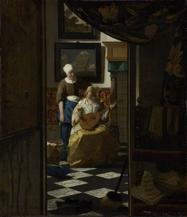 na Hist  243...The Love Letter Vermeer