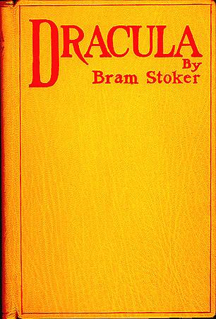 Capa original de 'Drácula'