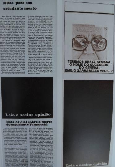 Reprodução - Blocos negros mostravam censura