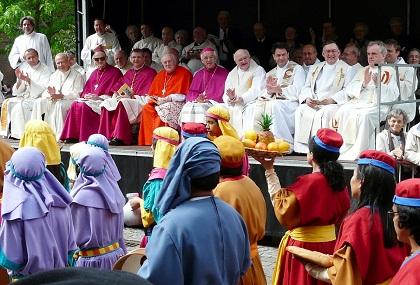 Membros do clero da Igreja Católica na Bélgica. Foto: Eddy Van 3000 / Flickr CC