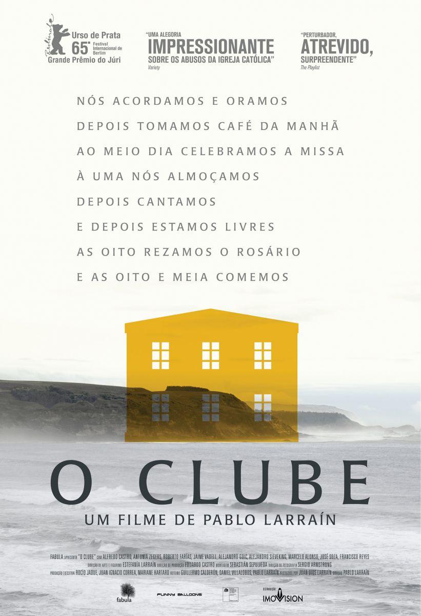 Cartaz do filme 'O Clube', de Pablo Larraín (Reprodução)