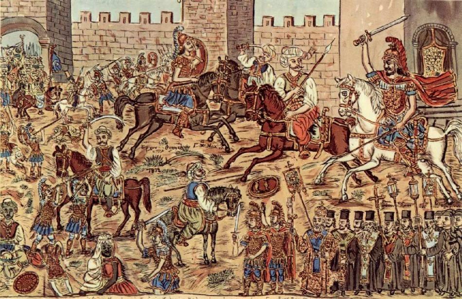 Resultado de imagem para guerras otomanas na idade media-fotos