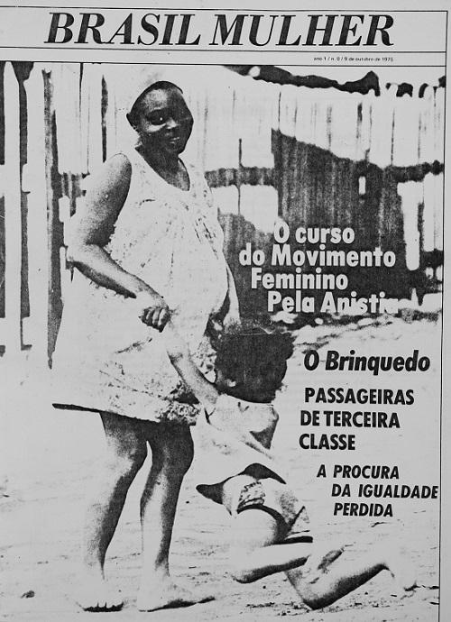 Capa da edição Nº 0 do Brasil Mulher. Foto: Reprodução