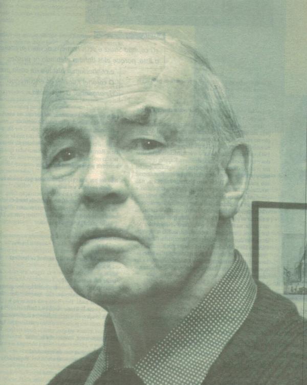 Erich Priebke em sua casa em Bariloche, na foto publicada pela revista <i>Atenção!</i> em 1995 (Imagem: Giancarlo Summa)