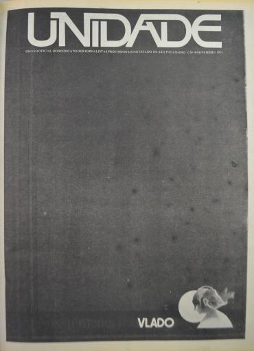 Capa da edição Nº 04, novembro de 1975 - Reprodução