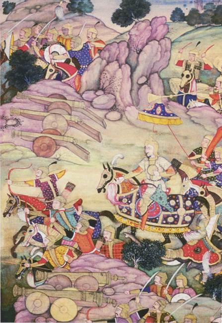 O rei estuda a situação e decide travar a batalha decisiva em Panipat