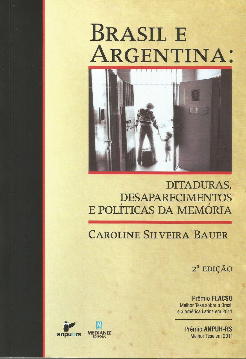 Capa do livro da pesquisadora Caroline Silveira Bauer