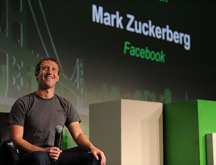 Mark Zuckerberg, CEO do Facebook. Foto TechCrunch / Flickr CC