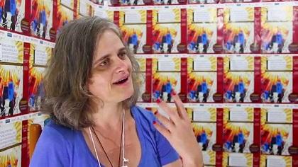 A pastora e secretária geral da Conselho Nacional de Igrejas Cristãs do Brasil (CONIC), Romi Bencke