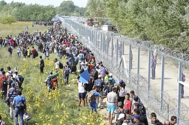 Resultado de imagen de muro de hungría