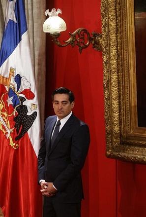 Peñailillo, agora ex-ministro do Interior: denúncias de corrupção contribuíram para queda do cargo