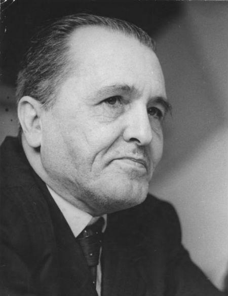 Luis Carlos Prestes na Alemanha em 1959