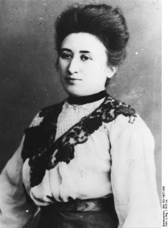 Rosa: foto datada de 1915
