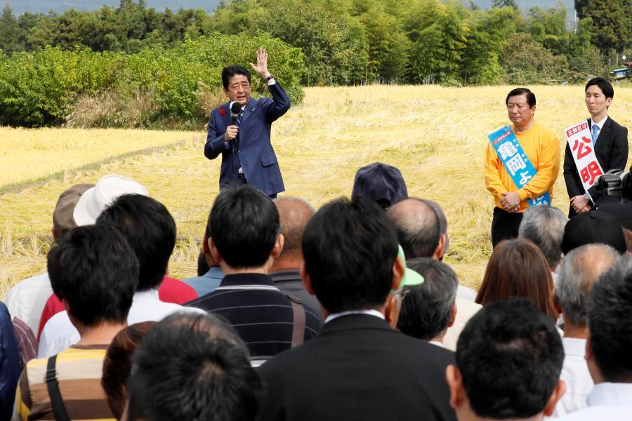 Partido do premiê Shinzo Abe venceu eleições antecipadas no Japão neste domingo