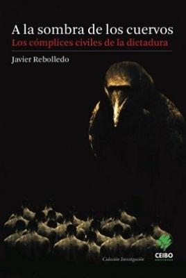 """Capa da edição chilena do livro """"A la sombra de los cuervos"""""""