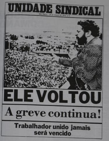 Jornal feito em apoio a São Bernardo (Reprodução)