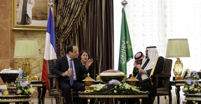 Contradições de Hollande: é possível combater o terrorismo e vender armas à Arábia Saudita ao mesmo tempo?
