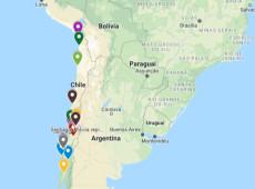 Mapa interativo mostra casos de violência estatal durante protestos no Chile