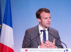 Macron diz que União Europeia 'não pode entregar a segurança aos EUA'