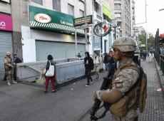 Em meio a protestos, Chile entra em 3º dia consecutivo com toque de recolher