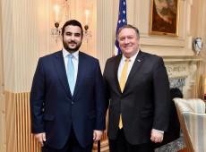 Além de Bolsonaro, apenas rei da Arábia Saudita nomeou filho como embaixador nos EUA