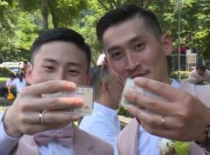 Taiwan celebra primeiros casamentos gay na Ásia