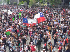 Greve geral mobiliza milhares de pessoas no Chile