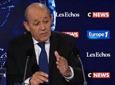 Diplomacia não é 'concurso de insultos', diz chanceler francês sobre declarações do governo brasileiro